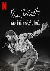 Search netflix Ben Platt Live from Radio City Music Hall